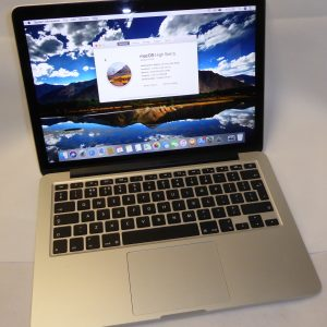 "Apple MacBook Pro Retina ""Core i5″ 2.6-3.1GHz,  13"" (Oct 2013)."